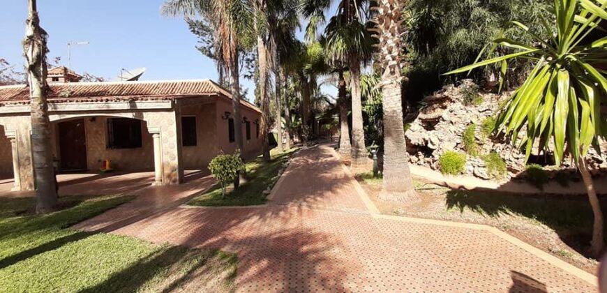 ferme à vendre avec villa sup 6940m² route de lissasfa