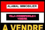 VILLA COMMERCIALE R+2 A VENDRE A RIVIERA FACE MARCHE